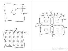 Apple патентует технологию дисплея с отверстиями между пикселями