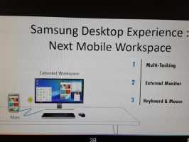 По слухам Samsung работает над мобильным рабочим местом, как Continuum от Microsoft