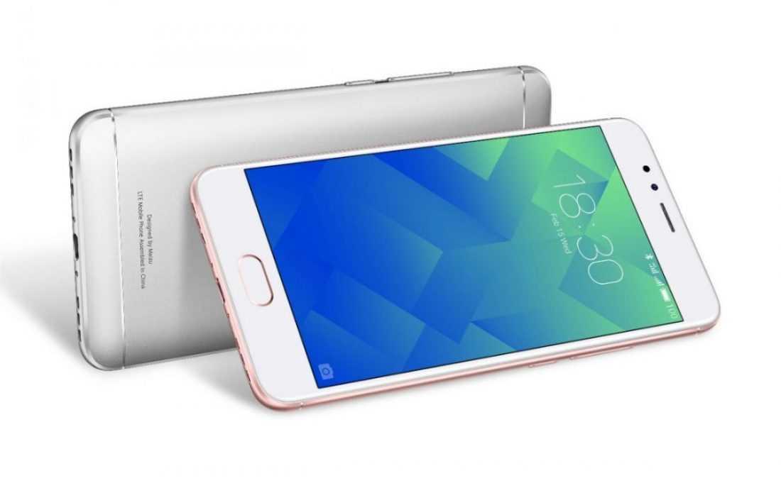 Официально представили Meizu M5S: быстрая зарядка на 18 Вт, 3 Гб ОЗУ и восьмиядерный чип
