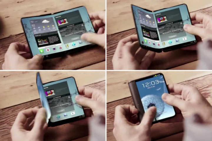 Samsung собирается продемонстрировать прототип складного смартфона на MWC 2017