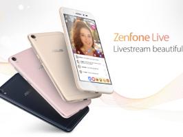 Asus ZenFone Live будет вас приукрашать во время прямой трансляции