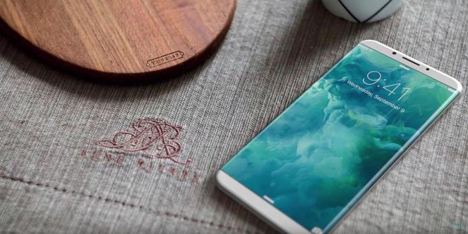 Touch Bar придет назамену кнопке «Домой» вiPhone 8