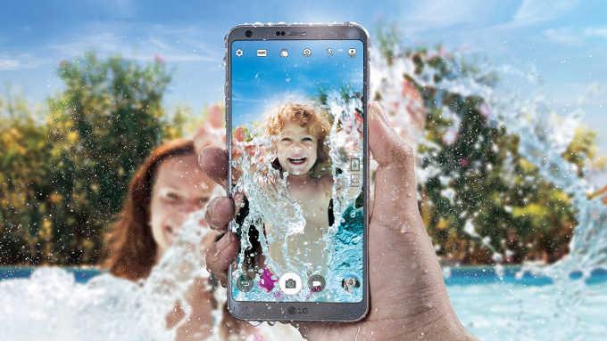 LG G6 представлен официально: стильный 5,7-дюймовый «безрамочный» смартфон