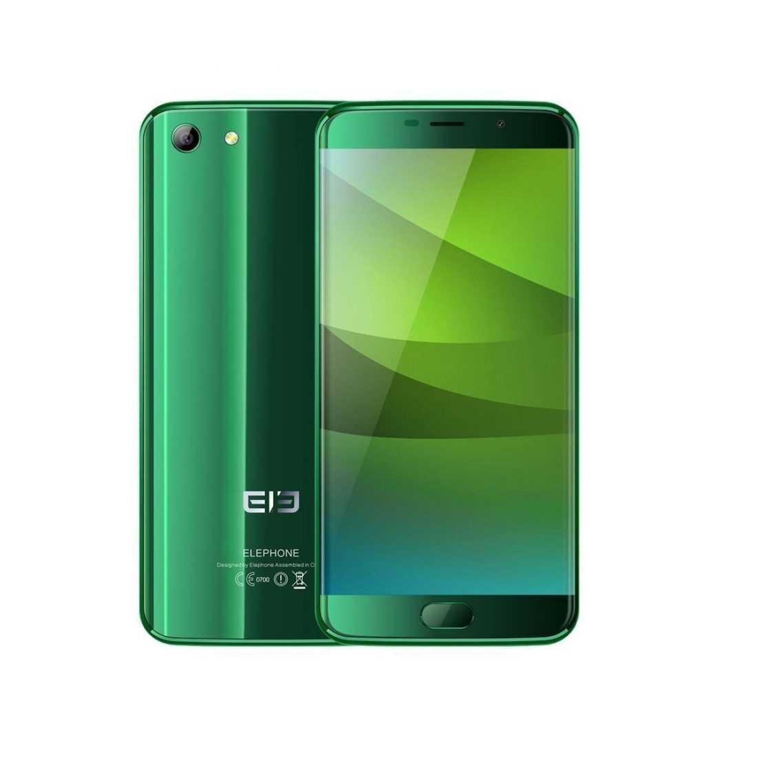 Зеленый ElePhone s7