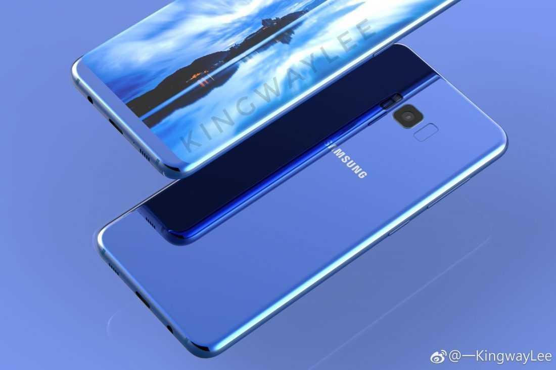Samsung вынуждено поместила сканер отпечатков пальцев на заднюю панель Galaxy S8