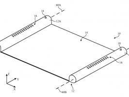 Apple подала заявку на патент устройства с гибким OLED-дисплеем