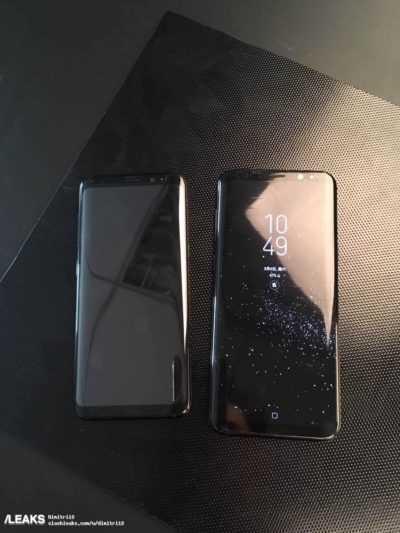 На новых фото Galaxy S8 и S8+ изображены вместе