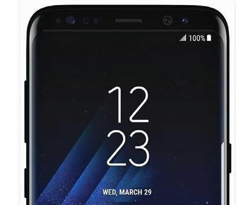 На пресс-изображениях Samsung Galaxy S8 выглядит высоким смартфоном