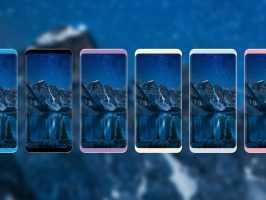 Изображение демонстрирует все предполагаемые цвета Samsung Galaxy S8