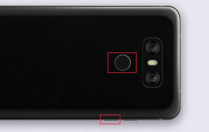 Как сделать скриншот на LG G6