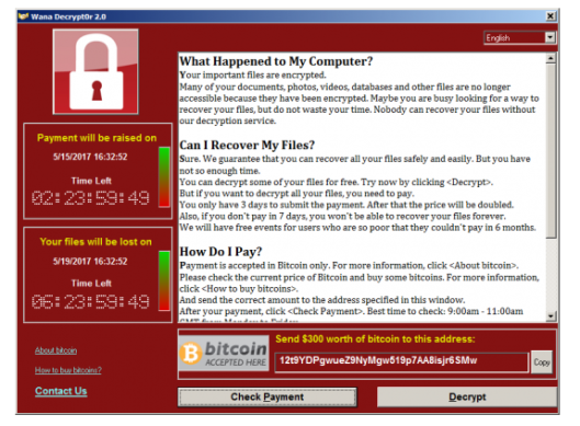 67% компьютеров, зараженных вирусом WannaCry, работали наWindows 7