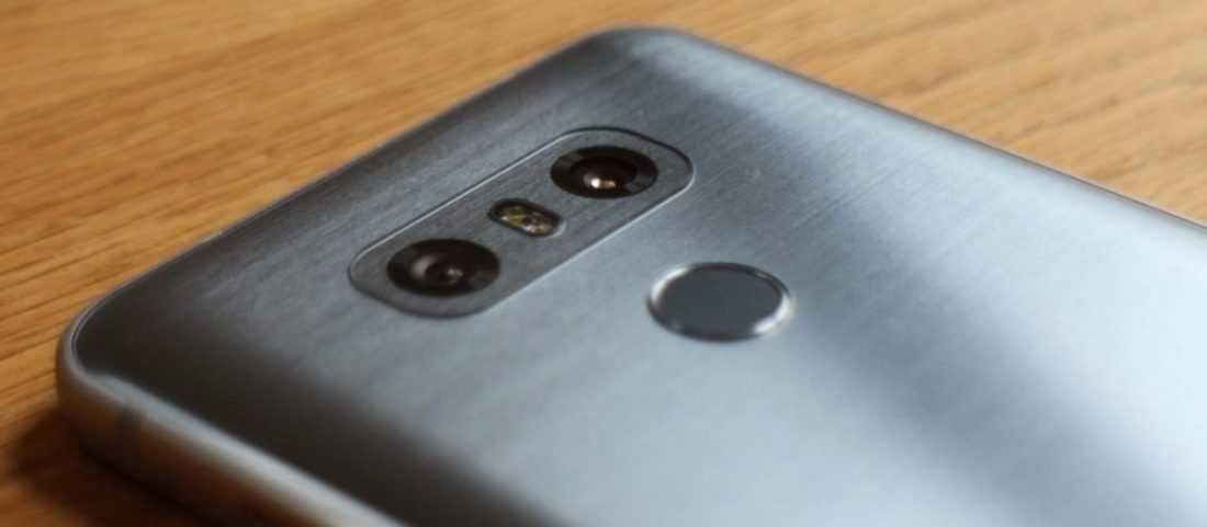 LG G6 двойная камера