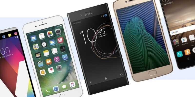 Новинки смартфонов 2017