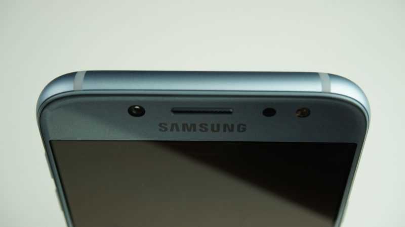 Samsung Galaxy J5 2017 верхний торец