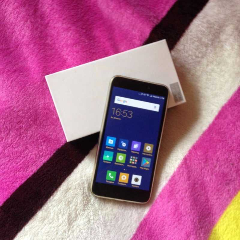 Отзыв о Xiaomi Redmi Note 4X