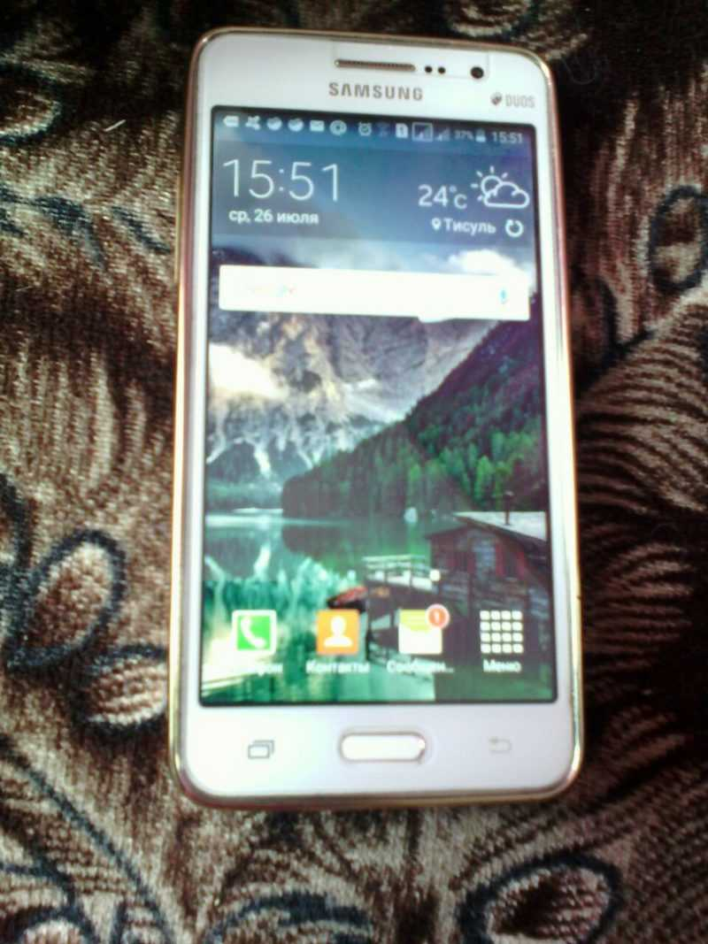 Отзыв о Samsung Grand Prime VE SM-G531H