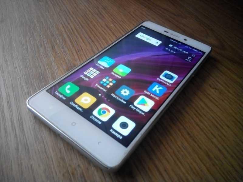 Отзыв о Xiaomi Redmi 3S