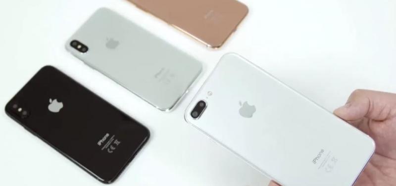 iPhone 7s Plus сравнили с iPhone 8 в новом видео