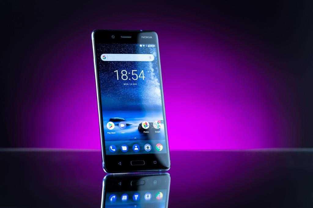 Технические характеристики: Nokia 8