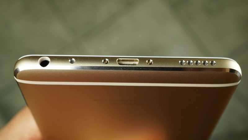 фото Meizu M3 Max снизу