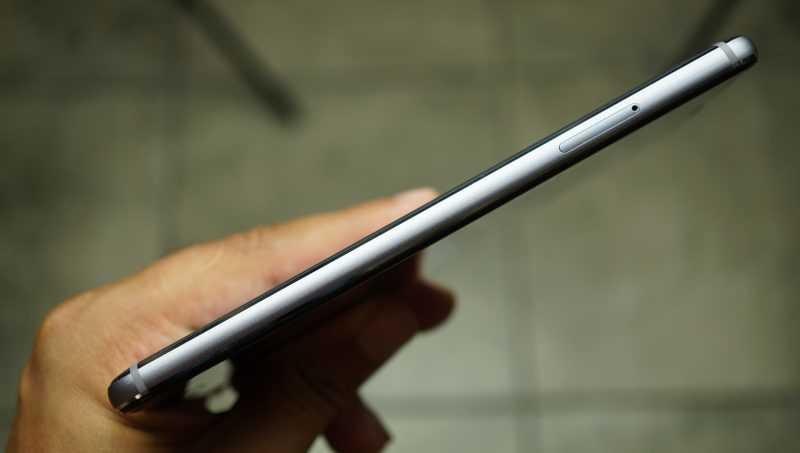 Meizu M5 Note фото слева