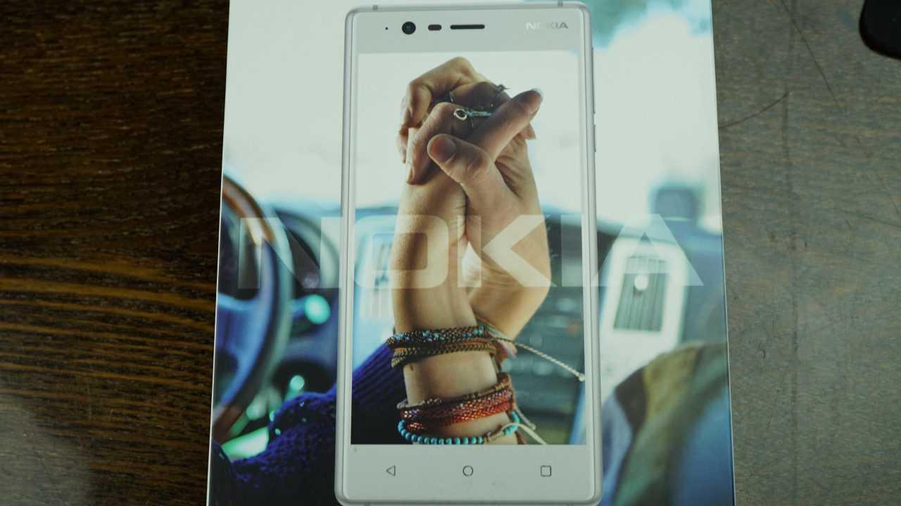 Распаковка Nokia 5