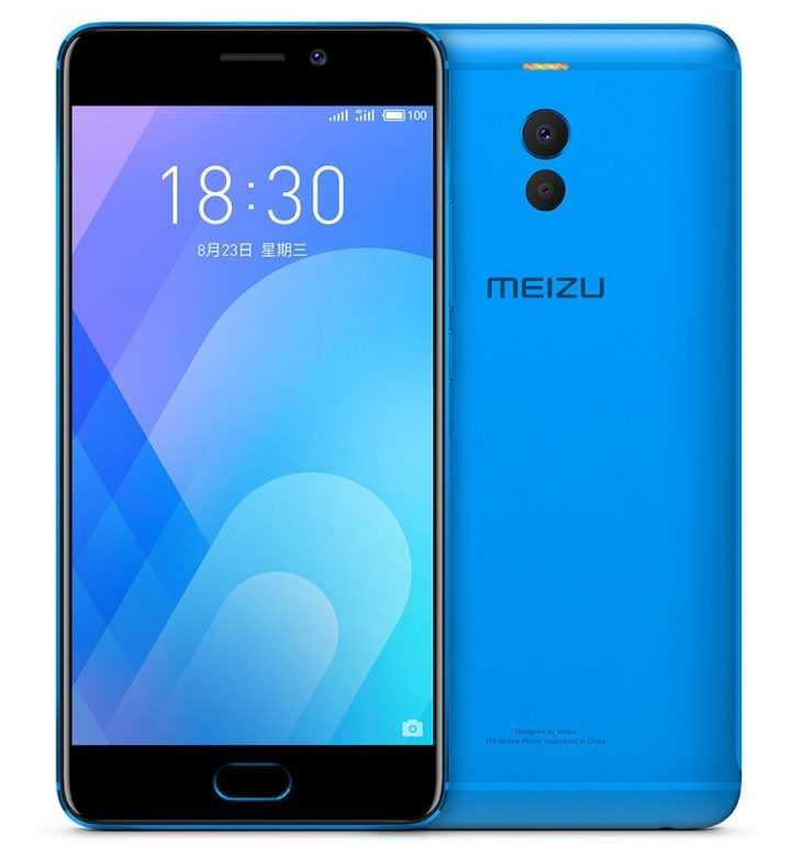 Meizu представила M6 Note: Snapdragon 625, двойная камера, конкурентная цена