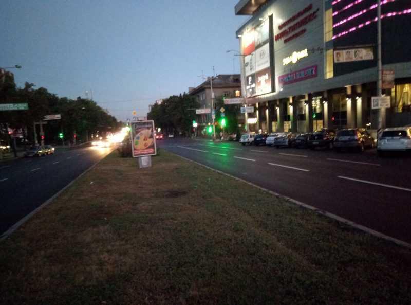 Ночное фото на Meizu M5 Note