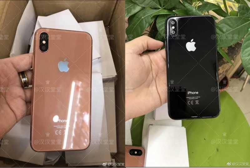iPhone 8 выйдет в трех цветах