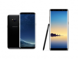 Samsung Galaxy Note 8 против других топовых моделей