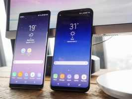 Samsung Galaxy Note 8 vs Galaxy S8+: большой против еще большего