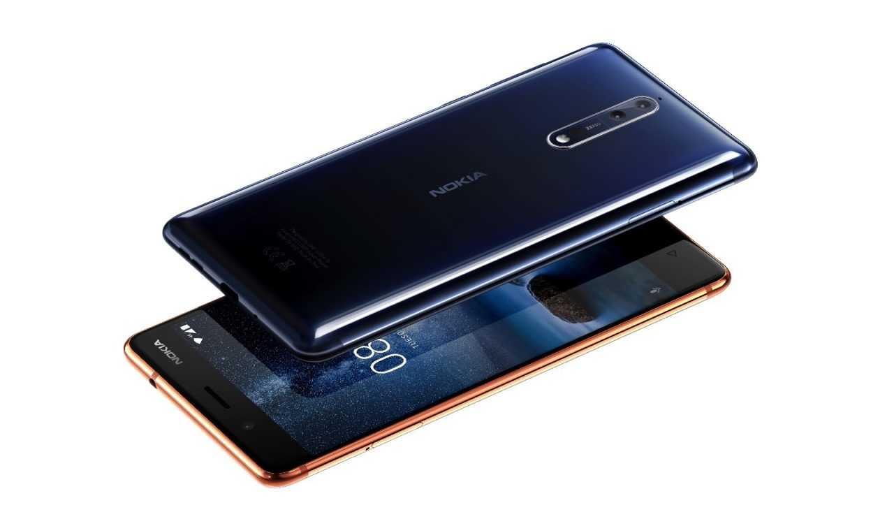Nokia 8 пресс-рендер