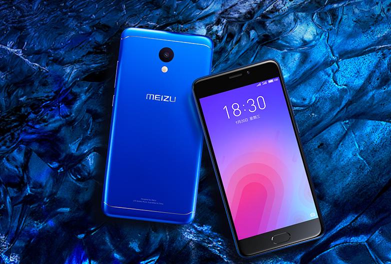 """Meizu M6 оснащен 8-ядерным процессором и 5,2"""" дисплеем"""