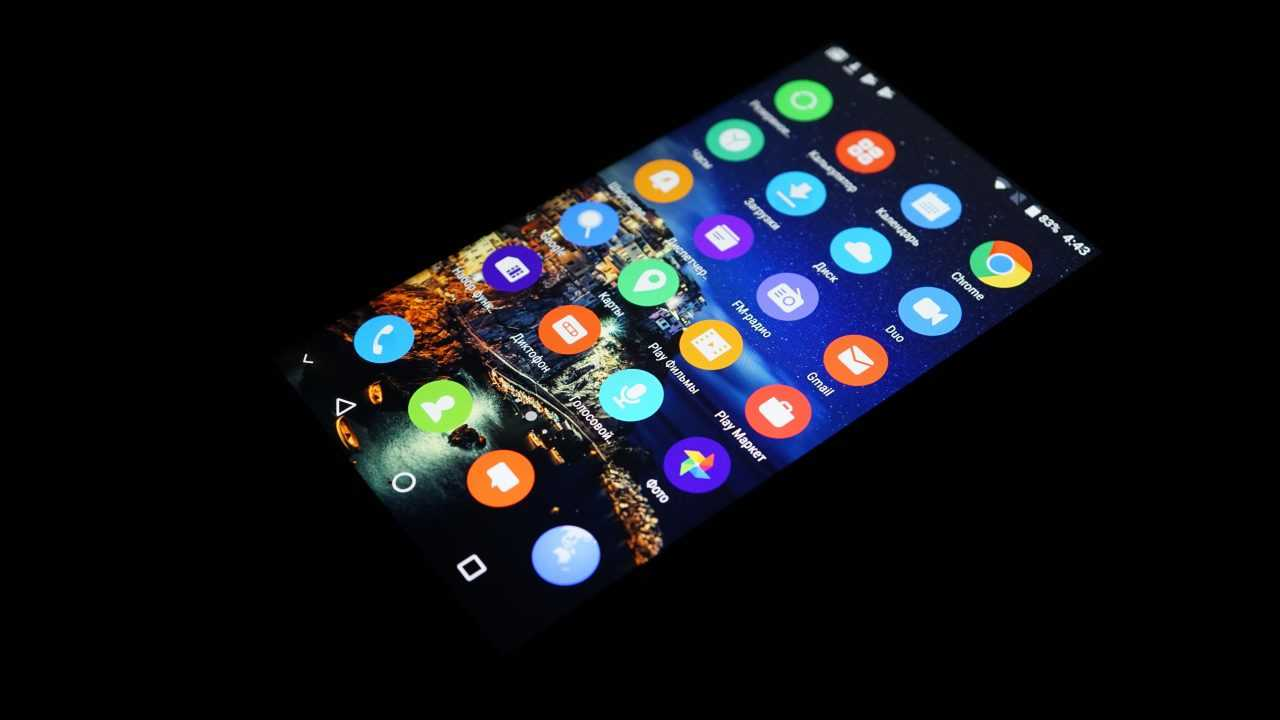 Экран Bluboo S1