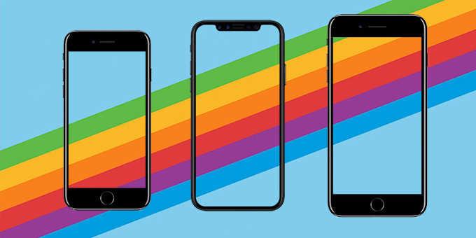Разница в характеристиках между Apple iPhone X, iPhone 8 и iPhone 8 Plus