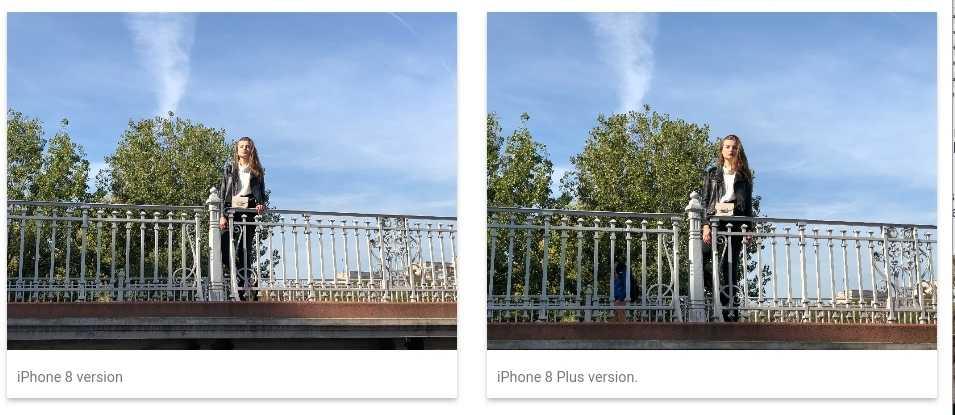 По версии DxOMark iPhone 8 Plus оснащен самой высококлассной камерой среди смартфонов