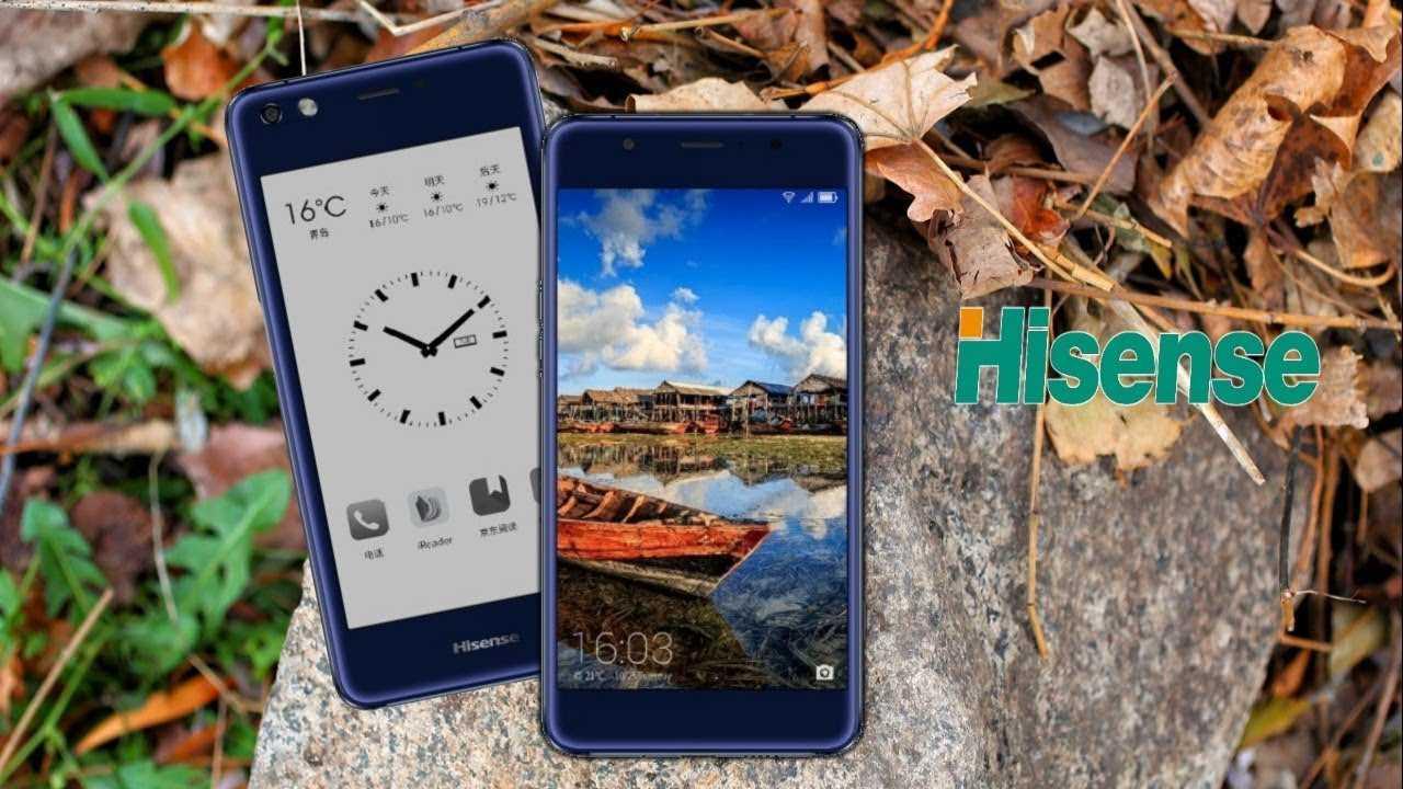 """Hisense A2 Pro укомплектован двумя дисплеями: 5,5"""" AMOLED и 5,2"""" e-ink"""