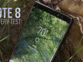 Тест батареи Samsung Galaxy Note 8: реальные показатели и сравнение с iPhone 7+