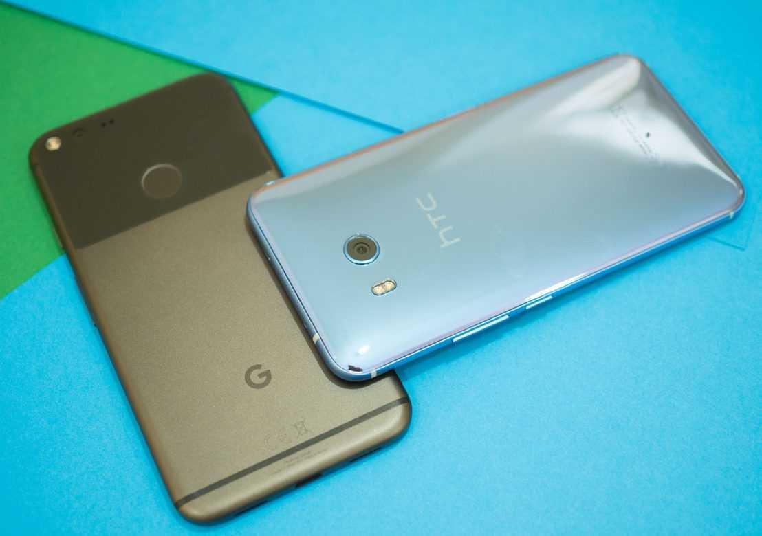 """Google покупает подразделение """"Power by HTC"""" R&D за 1,1 миллиард долларов США"""