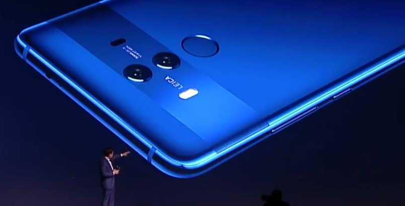 Huawei представила смартфон Mate 10 Lite с4 камерами