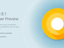 Google запускает предварительное тестирование бета-версии Android 8.1