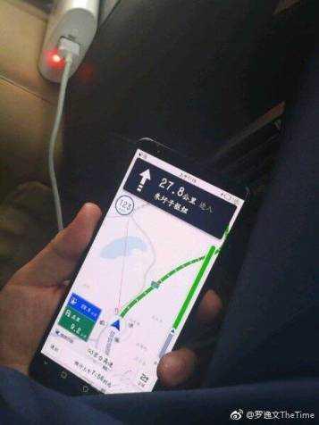 Просочились первые живые фото Huawei Mate 10 Pro
