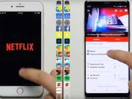 Galaxy Note 8 превзошел iPhone 8 Plus в тестировании скорости (видео)