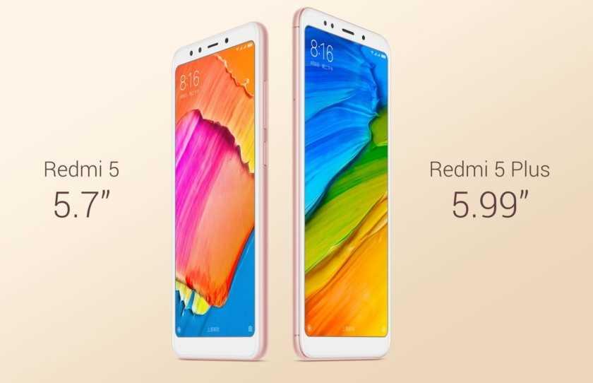 Продажи Xiaomi Redmi 5 и Redmi 5 Plus начнутся 12 декабря