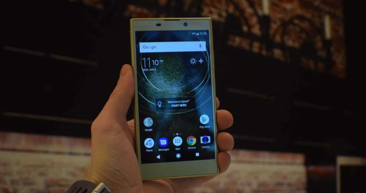 Смартфон Сони Xperia XZ2 Compact владеет экраном 18:9