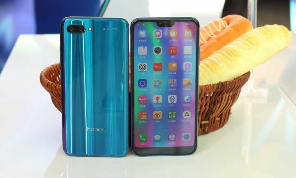 Характеристики Huawei Honor 10: имиджевый смартфон в стекле
