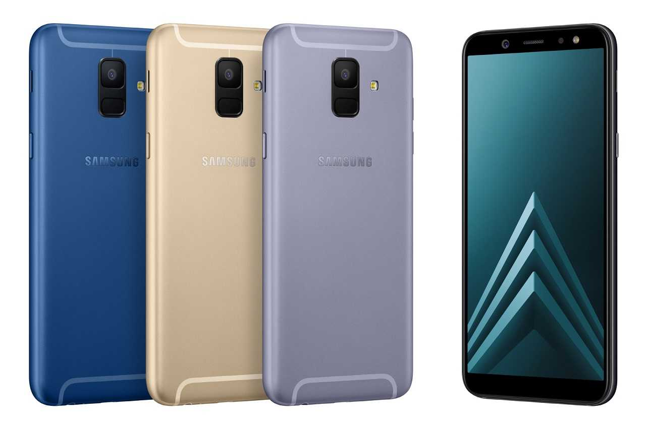 Характеристики Samsung Galaxy A6 и A6+ – смартфоны среднего класса с AMOLED