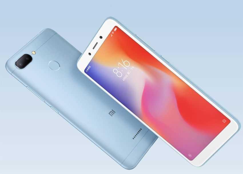 Xiaomi Redmi 6 характеристики преемника Redmi 5