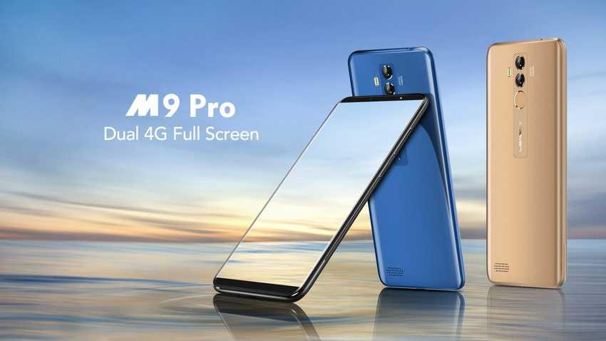 Leagoo M9 Pro полноэкранный смартфон с двойной камерой