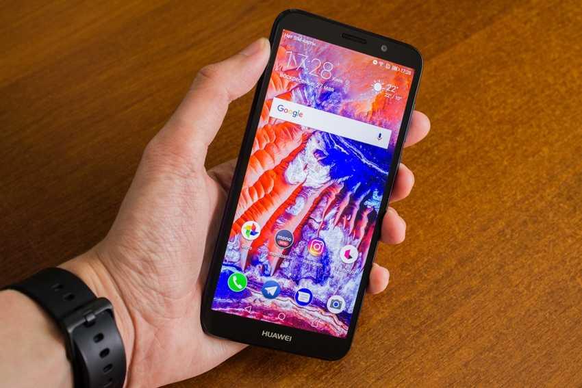 Huawei Y5 2018 характеристики полноэкранного смартфона с функцией разблокировки по лицу